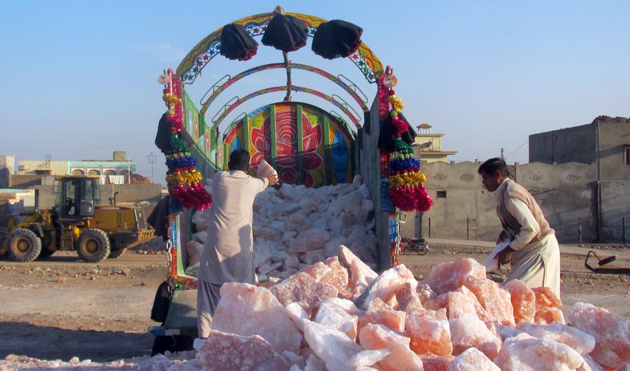 Inside Pakistan S Khewra The Second Largest Salt Mine In