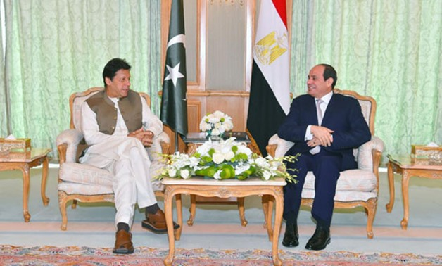 Imran Khan praises Egypt's support for Pakistan's initiative of ...