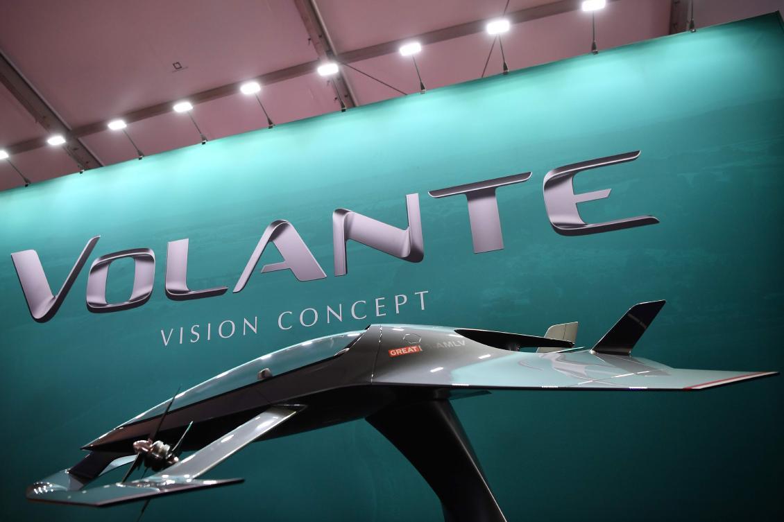 Aston Martin Unveils Sports Car For The Skies At Farnborough Airshow Arab News Pk