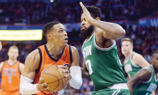 Westbrook triple-double streak ends but Thunder triumph vs