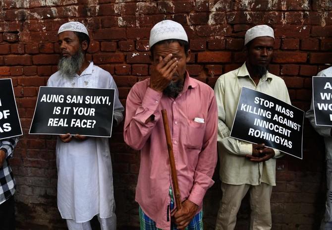 Top India court hears plea against Rohingya deportation