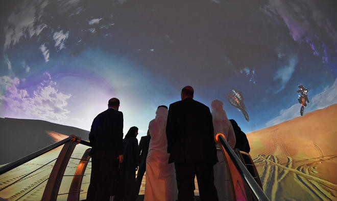 Riyadh audience hears of a time when spacecraft will be