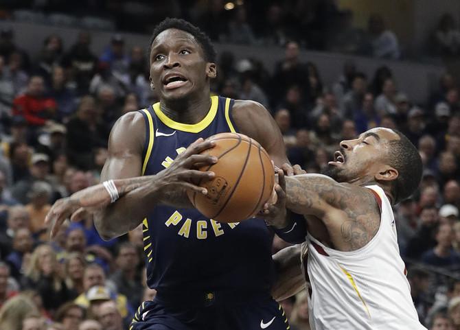 e33c88ea08a8 Pacers end Cavaliers  13-NBA game winning streak