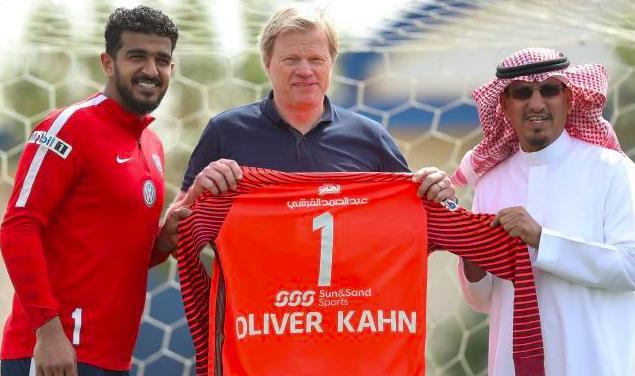 e0deb0156 Germany legend Oliver Kahn watches Al-Hilal train ahead of crunch AFC  Champions League clash