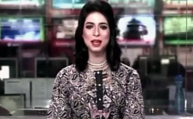 Pakistani private TV channel gets its first transgender news