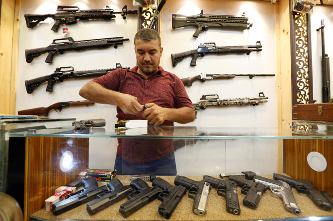 Baghdad gun shops thrive after Iraqi rethink on arms control | Arab News PK