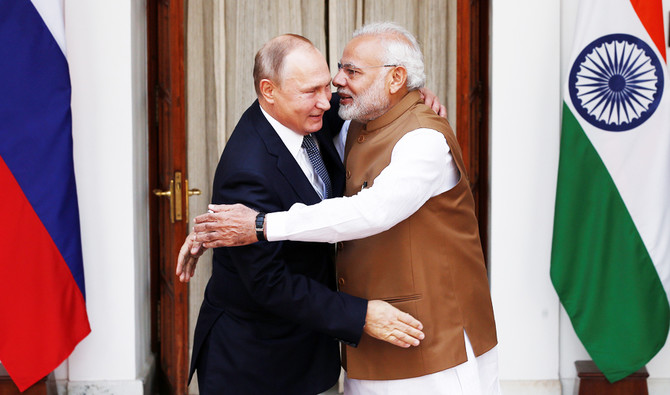 India, Russia sign $5 billion deal for S-400 air defense