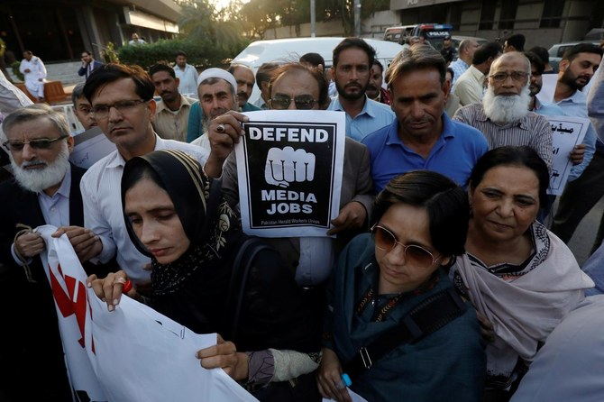International group asks Pakistan to release journalist