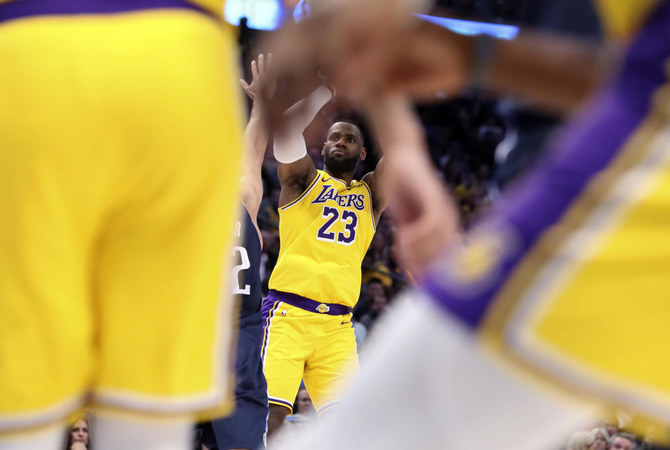 Lebron James Powers Lakers To Overtime Win Against Mavs