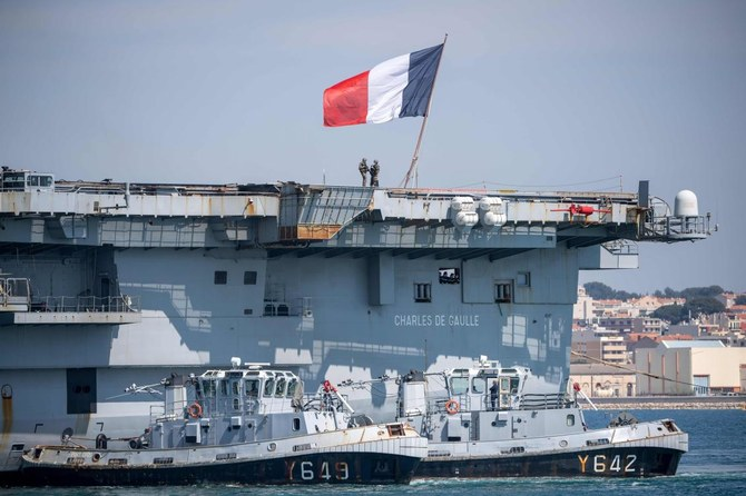 Coronavirus spreads on French aircraft carrier, hundreds infected ...