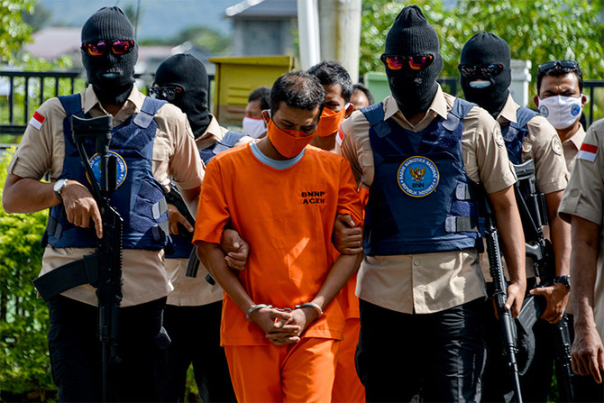 Pakistani national among drug trafficking suspects sentenced to death in Indonesia