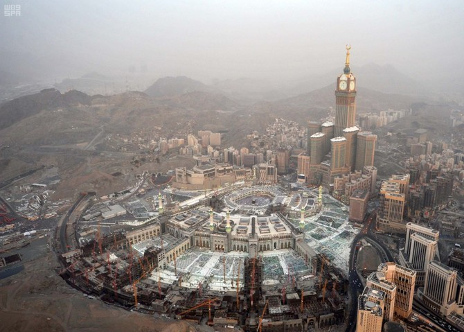 A View Of Makkah In Ramadan From The Sky Arab News Pk