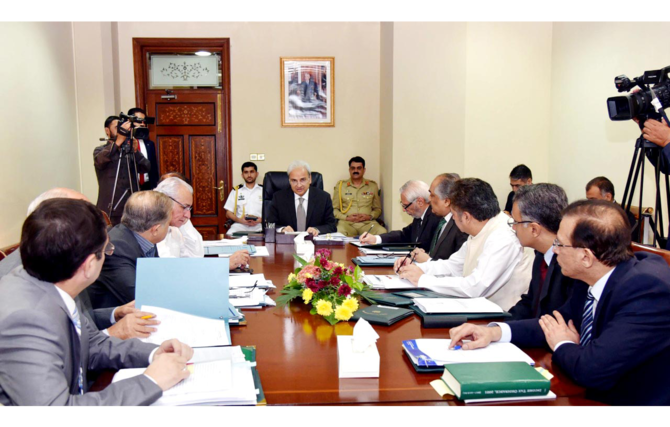 Caretaker PM chairs meeting to ensure swift, smooth FATA-KP