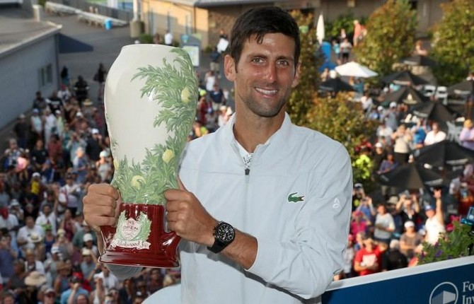Djokovic Wins Cincinnati Title To Complete Masters Matched Set Arab News Pk